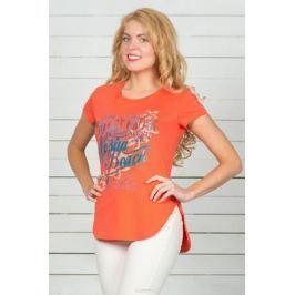Футболка женская BeGood, цвет: оранжевый. SS16-BGUZ-593. Размер 46