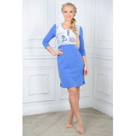 Платье Mia Cara Magic Flovers, цвет: синий, белый. AW15-UAT-LDS-283. Размер 50/52