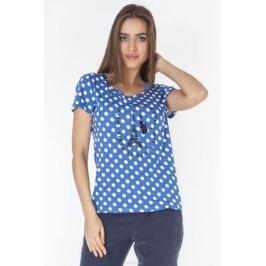 Футболка женская Vis-A-Vis, цвет: голубой. LFV6254. Размер M (46)