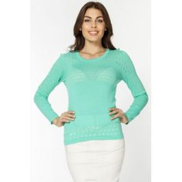 Джемпер женский Vis-A-Vis, цвет: светло-зеленый. VIS-0289. Размер XL (50)
