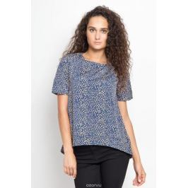Блузка женская Ruxara, цвет: темно-синий, горчичный. 1202341_21. Размер 50