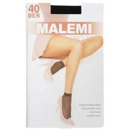 Носки женские Malemi Oro 40, цвет: Nero (черный), 2 пары. 9063. Размер универсальный