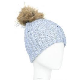 Шапка женская Finn Flare, цвет: серо-голубой. A16-11162_138. Размер 56