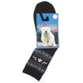 Носки женские Грация, цвет: черный, белый. М 1082. Размер 2 (38/40)