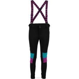 Брюки утепленные женские O'Neill Pw 76' Fashion Focus Slim Pant, цвет: черный. 7P8018-9010. Размер XL (50/52)