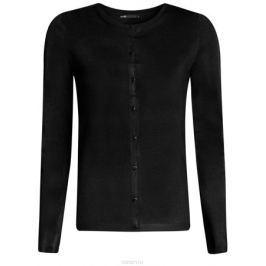 Кардиган женский oodji Knits Collection, цвет: черный. 73212401B/45641/2900N. Размер XL (50)