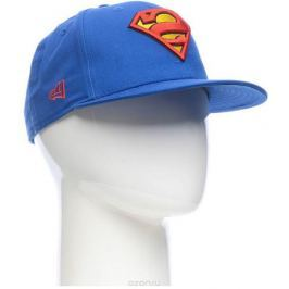 Бейсболка New Era Character 9fifty Superman, цвет: синий, красный, желтый. 11379760-BLU. Размер S/M (54/57)