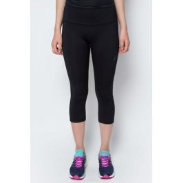 Бриджи для фитнеса женские Asics 3/4 Spiral Tight, цвет: черный. 136047-0904. Размер XS (40/42)