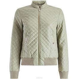 Куртка женская oodji Collection, цвет: светло-зеленый. 28A03001/45639/6000N. Размер 40-170 (46-170)