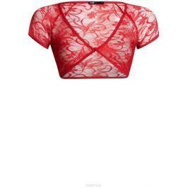 Болеро oodji Ultra, цвет: красный. 14607001-1/24438/4500N. Размер XL (50)