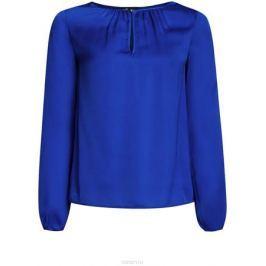 Блузка женская oodji Collection, цвет: синий. 21400321-2/33116/7501N. Размер 40-170 (46-170)