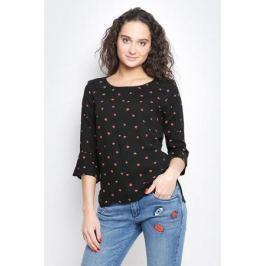 Блузка женская Tom Tailor Contemporary, цвет: черный. 2032979.01.75_2999. Размер 36 (42)