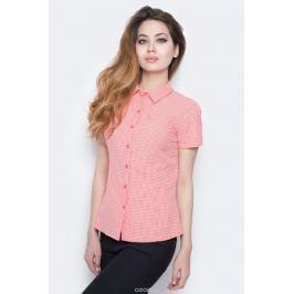 Рубашка женская The North Face W S/S Bryce Shirt, цвет: красный, белый. T0CD8UNXG. Размер XS (40)