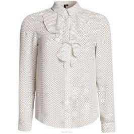 Блузка женская oodji Collection, цвет: белый. 21411090/36215/1229D. Размер 44-170 (50-170)