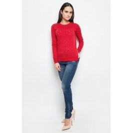 Джемпер женский Baon, цвет: красный. B137009. Размер XL (50)