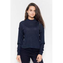 Джемпер женский Vero Moda Noisy May, цвет: темно-синий. 10145560. Размер S (42)