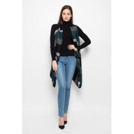 Кардиган женский Vero Moda, цвет: темно-зеленый, серый, черный. 10157237. Размер S (42)