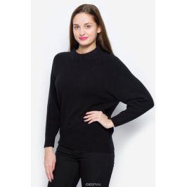 Джемпер женский Selected Femme, цвет: черный. 16051597. Размер M (44)