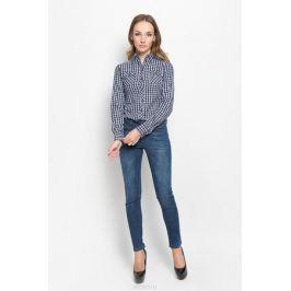 Рубашка женская Lee Cooper, цвет: синий, серый. LCHWW043. Размер XS (40)