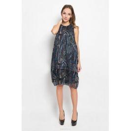 Платье Diesel, цвет: серый, черный, синий. 00STBW-0SAMS. Размер S (42)