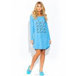 Ночная рубашка Evateks, цвет: голубой. 1424. Размер 46/48