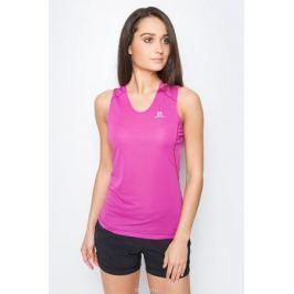 Майка для бега женская Salomon Trail Runner Sleeveless Tee, цвет: розовый. L39255600. Размер L (48/50)