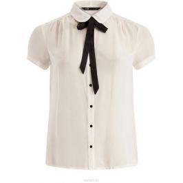 Блузка женская oodji Ultra, цвет: белый. 11403202-1/19538/1200N. Размер 40 (46-170)