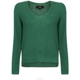 Джемпер женский oodji Ultra, цвет: зеленый. 63807287/45001/6D00X. Размер XS (42)