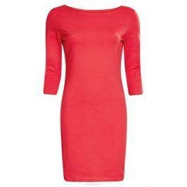 Платье oodji Ultra, цвет: фуксия. 14001071-2B/46148/4D00N. Размер L (48)