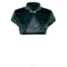 Болеро женское oodji Ultra, цвет: темно-зеленый. 11J00001/45031/6900N. Размер 44 (50-170)