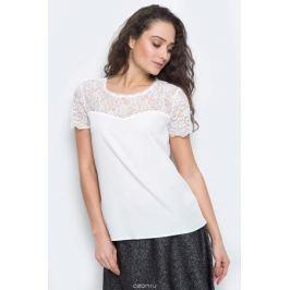 Блузка женская Tom Tailor Contemporary, цвет: белый. 2032932.00.75_8210. Размер 36 (42)