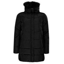 Куртка женская oodji, цвет: черный. 10210002/46266/2900N. Размер 44 (50-170)