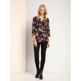 Блузка женская Top Secret, цвет: бордовый, мультицвет. SKL2202FI. Размер 36 (42)