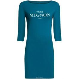 Платье oodji Ultra, цвет: темно-бирюзовый. 14001071-9/46148/6C00P. Размер L (48)