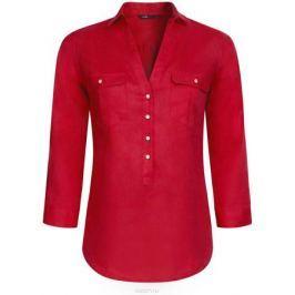 Блузка женская oodji Collection, цвет: красный. 21412145/42532/4500N. Размер 46 (52-170)