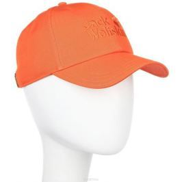Бейсболка Jack Wolfskin Baseball Cap, цвет: оранжевый. 1900671-3727. Размер 56/61
