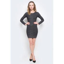 Платье Tom Tailor Denim, цвет: черный. 5019540.01.71_2999. Размер S (44)