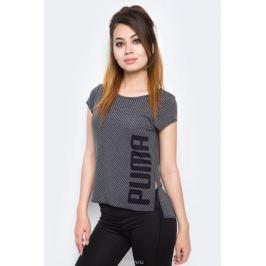 Футболка для танцев женская Puma Dancer Drapey Tee, цвет: черный. 515121_01. Размер XL (48/50)
