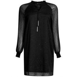 Платье oodji Ultra, цвет: черный. 11914001/46116/2900N. Размер 36 (42-170)