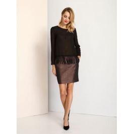 Блузка женская Top Secret, цвет: черный. SBD0627CA. Размер 38 (44)