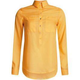 Блузка женская oodji Ultra, цвет: желтый. 11411101B/45561/5200N. Размер 44-170 (50-170)