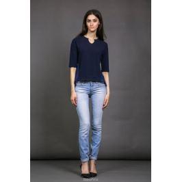 Джемпер женский La Via Estelar, цвет: темно-синий. 24350-3. Размер 44