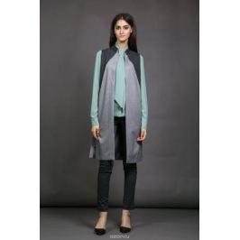 Жилет женский La Via Estelar, цвет: серый. 50601-1. Размер 46
