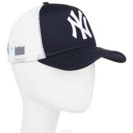 Бейсболка New Era Mlb Clean Trucker, цвет: черный, белый. 10531936-NVY. Размер универсальный