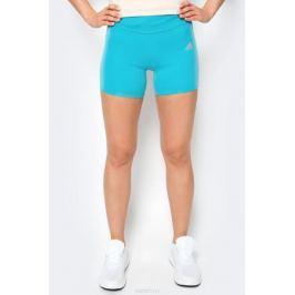 Шорты для бега женские Adidas Rs Sh Tight, цвет: бирюзовый. S98118. Размер XS (40/42)