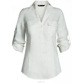 Блузка женская oodji Collection, цвет: белый. 21412145-1/46591/1200N. Размер 46-170 (52-170)