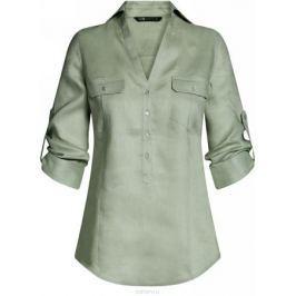 Блузка женская oodji Collection, цвет: светло-зеленый. 21412145-1/46591/6000N. Размер 44-170 (50-170)