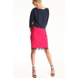 Блузка женская Top Secret, цвет: темно-синий. SBD0683GR. Размер 38 (46)