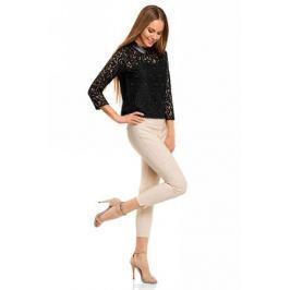 Блузка женская oodji Collection, цвет: черный. 21411092/43582/2900N. Размер 44-170 (50-170)