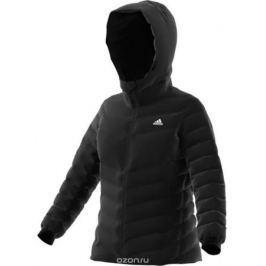 Пуховик женский Adidas W CW Nuvic JKT, цвет: черный. BQ8778. Размер 44 (50)